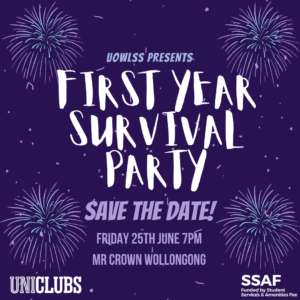 First Year Survival Party Ticket